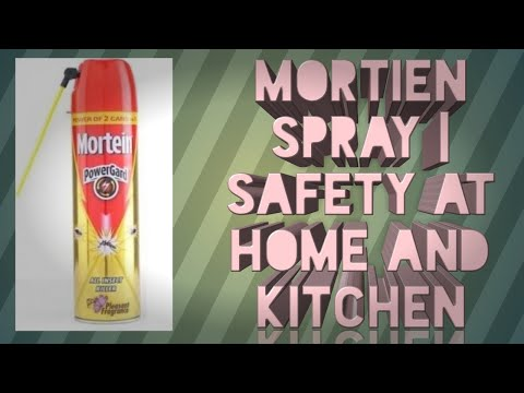 Mortien spray   safety at home and kitchen   safety in our own hands