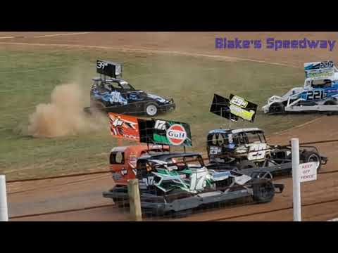 Who will qualify? - dirt track racing video image