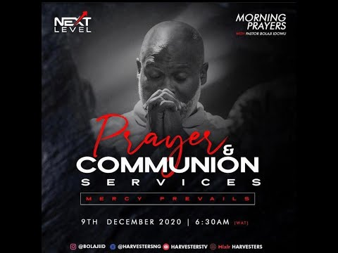 Next Level Prayer: Pst Bolaji Idowu 9th December 2020