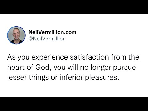 Satisfaction From Relationship And Fellowship With Me - Daily Prophetic Word
