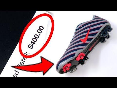 THE TIME NIKE MADE $400 FOOTBALL BOOTS! - 5 RANDOM BOOTS - UCUU3lMXc6iDrQw4eZen8COQ