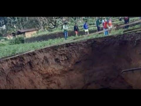 Breaking Cataclysmic Monster Sinkhole Opens In Indonesia