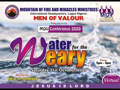 MFM OF VALOUR 2020 CONFERENCE  VIRTUAL CONFERENCE