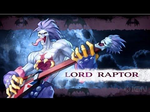 Darkstalkers - Lord Raptor Moves List - ignentertainment