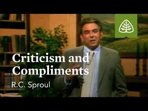 Criticism and Compliments: The Intimate Marriage with R.C. Sproul