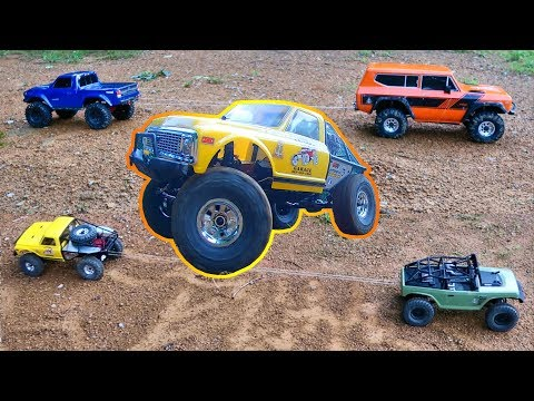 Traxxas Vs Redcat & Axial Vs Vaterra - TUG OF WAR Challenge in the Dirt - TheRcSaylors - UCYWhRC3xtD_acDIZdr53huA