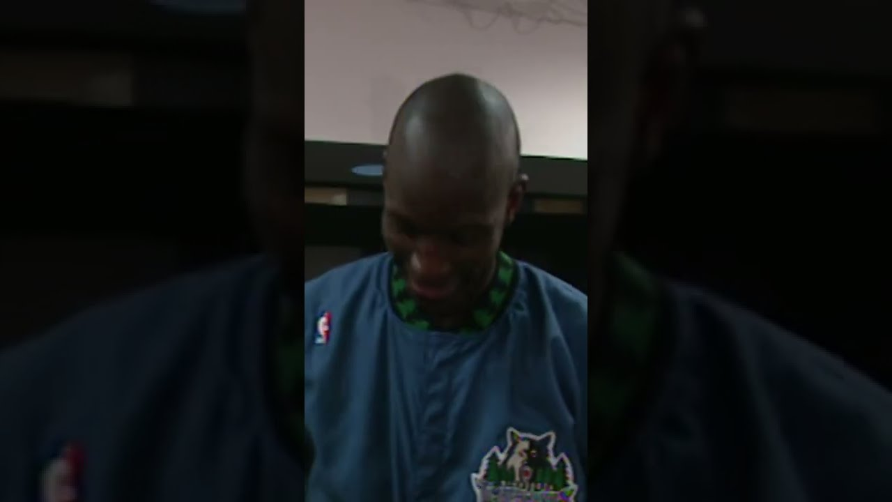 Kevin Garnett First All-Star Game with Shawn Kemp & Gary Payton – From 1997 | #shorts