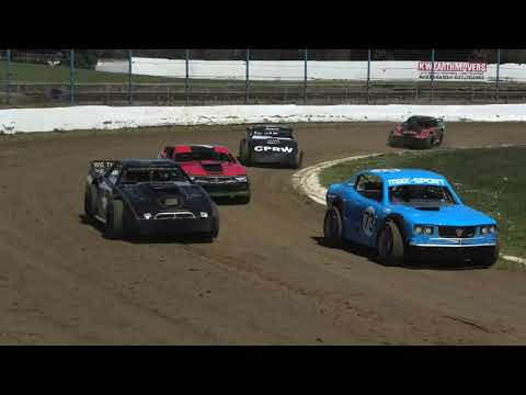 Waikaraka Park  First Practice 2020 2021 Season - dirt track racing video image