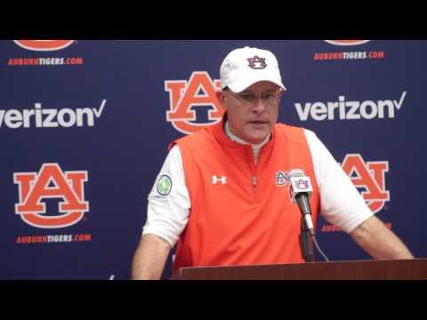 Gus Malzahn discusses Auburn's close win over LSU.