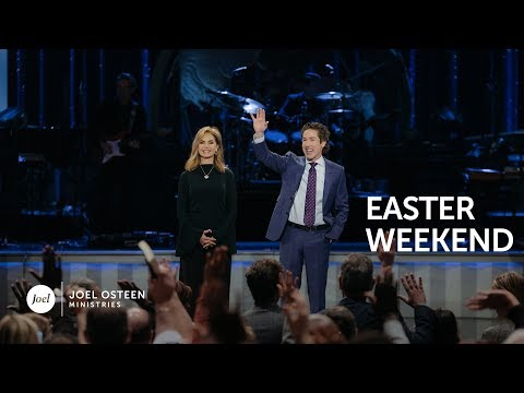 Lakewood Church Easter Saturday Service