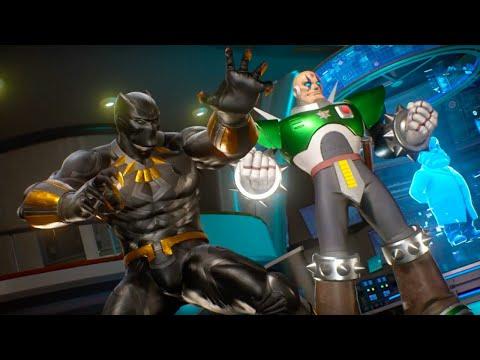 Marvel vs. Capcom Infinite - Black Panther and Sigma Gameplay Trailer - default