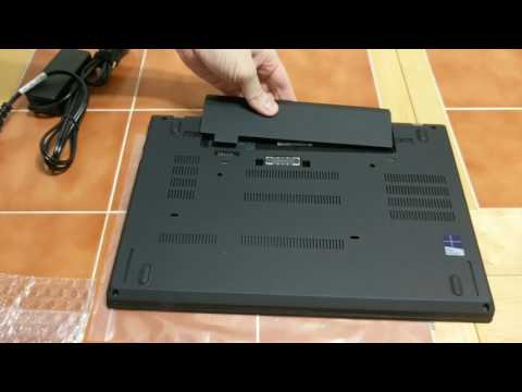 Lenovo T470 unboxing and boot up with 1TB PCI-E SSD, size comparison with T450s - UCm0JezF3D-RZlsm_-AZAUQg