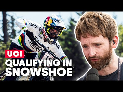 Qualifiers As It Happened | UCI MTB World Cup Snowshoe 2019 with Ric Mclaughlin - UCXqlds5f7B2OOs9vQuevl4A