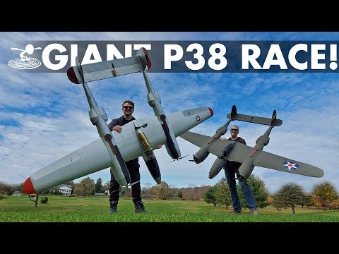 Epic Warbird Air Race! | Giant DIY P-38 Lightnings - UC9zTuyWffK9ckEz1216noAw