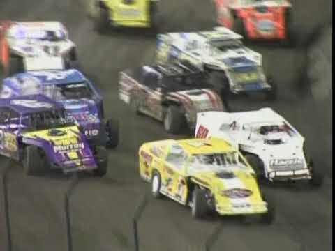 This was a IMCA Modified invitational that ran as the support class for the 2011 Late Model Knoxville Nationals. - dirt track racing video image