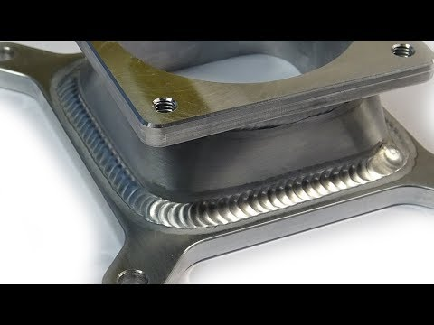 TIG Welding Aluminum Fabrication - Sheet Metal Forming - Round Hole to Rectangle  Hole Transition - UCcuMSDG2svjR7BncF841GJg
