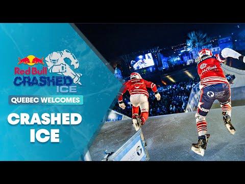 3v3 Team Ice Cross Downhill Racing   Red Bull Crashed Ice 2016 - UCblfuW_4rakIf2h6aqANefA