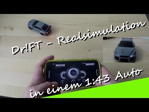 Dr!ft- Racingsimulation eines 1:43 Model - Unboxing  1. Probefahrt !!! Es reagiert nicht wie RC Car! - UCNWVhopT5VjgRdDspxW2IYQ