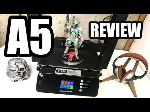 BEST PRINTER UNDER $500? - JGAurora A5 3D Printer - FULL REVIEW - UCwojJxGQ0SNeVV09mKlnonA