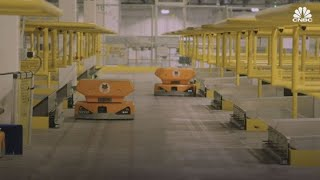 Amazon's new robots to be deployed in warehouses around the country