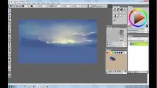 Рисуем пейзаж в Corel Painter 12