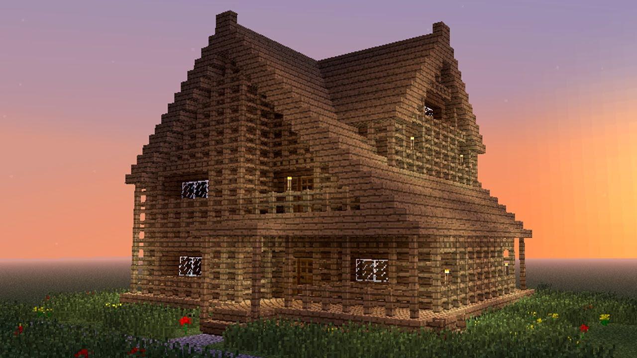 Minecraft Biggest House In The World - #GolfClub