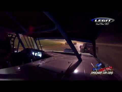 #55 Chris Skinner - Hobby Stock - 6.26.21 Legit Speedway Park - In Car Camera - dirt track racing video image