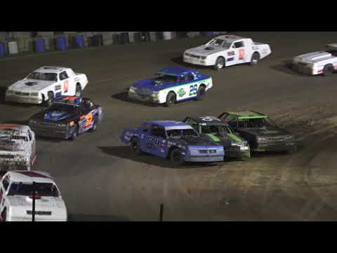 Street Stock A-Feature at Crystal Motor Speedway, Michigan on 07-10-2021!! - dirt track racing video image