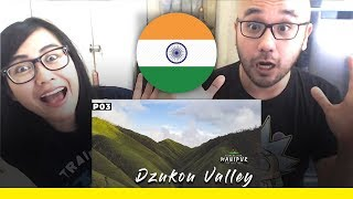 Indonesians React To Dzukou Valley | Manipur / Nagaland | North East India