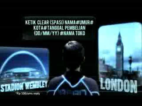 Clear - Irfan Bachdim to London Komersial