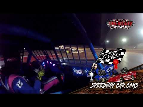#4 Chad Abernathy - USRA Factory Stock - 9-11-2021 Tri-State Speedway - In Car Camera - dirt track racing video image