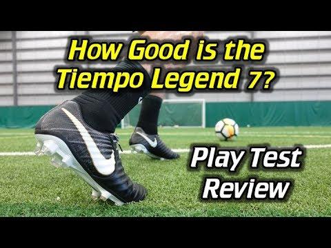Nike Tiempo Legend 7 Play Test + Free Kicks - Review - UCUU3lMXc6iDrQw4eZen8COQ