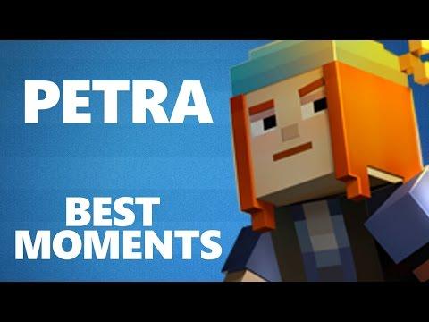 PETRA BEST MOMENTS - Minecraft Story Mode - default