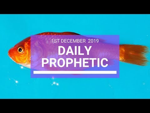 Daily Prophetic 1 December Word 4 of 4