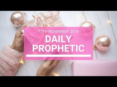 Daily Prophetic 17 November Word 5