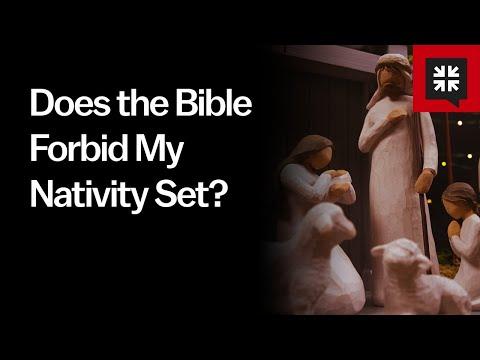 Does the Bible Forbid My Nativity Set? // Ask Pastor John