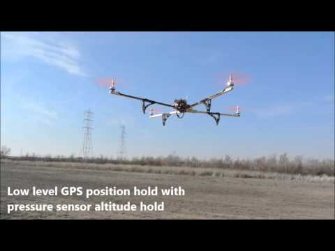 Testing position hold with multiwii pro flight controller and UBlox 6M GPS - UCpZGzYVc4RBrjzE5FCNqAMQ