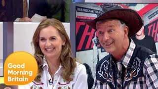 Debra Stephenson and Tony Hawks Star in a New Musical 'Midlife Cowboy' | Good Morning Britain