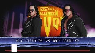 WWE 2K18 Bret Hart 1998 vs Bret Hart 1997