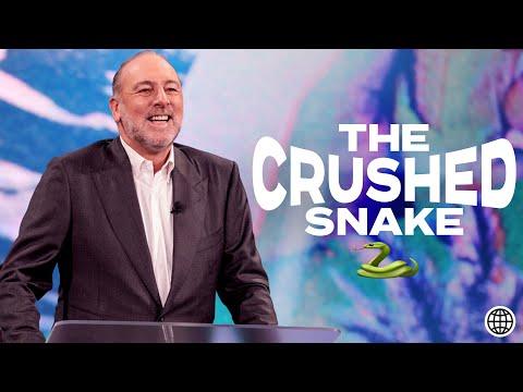 The Crushed Snake   (Spiritual Authority)  Brian Houston  Hillsong Church Online