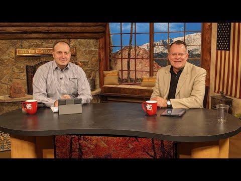 Charis Daily Live Bible Study: Holy Spirit vs Ministering Spirit - Daniel Amstutz - October 15, 2020