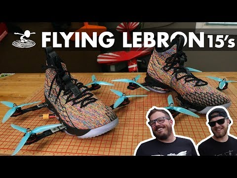 Flying LeBron James Shoes! - UC9zTuyWffK9ckEz1216noAw