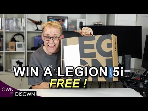 online contests, sweepstakes and giveaways - WIN A NEW LENOVO LEGION 5i GAMING LAPTOP !