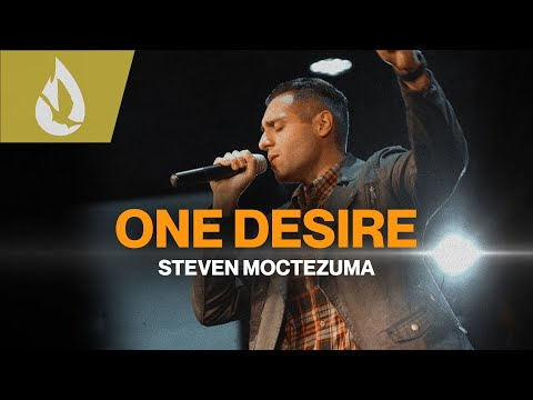 One Desire (by Hillsong) with Lyrics  Acoustic Worship Cover by Steven Moctezuma