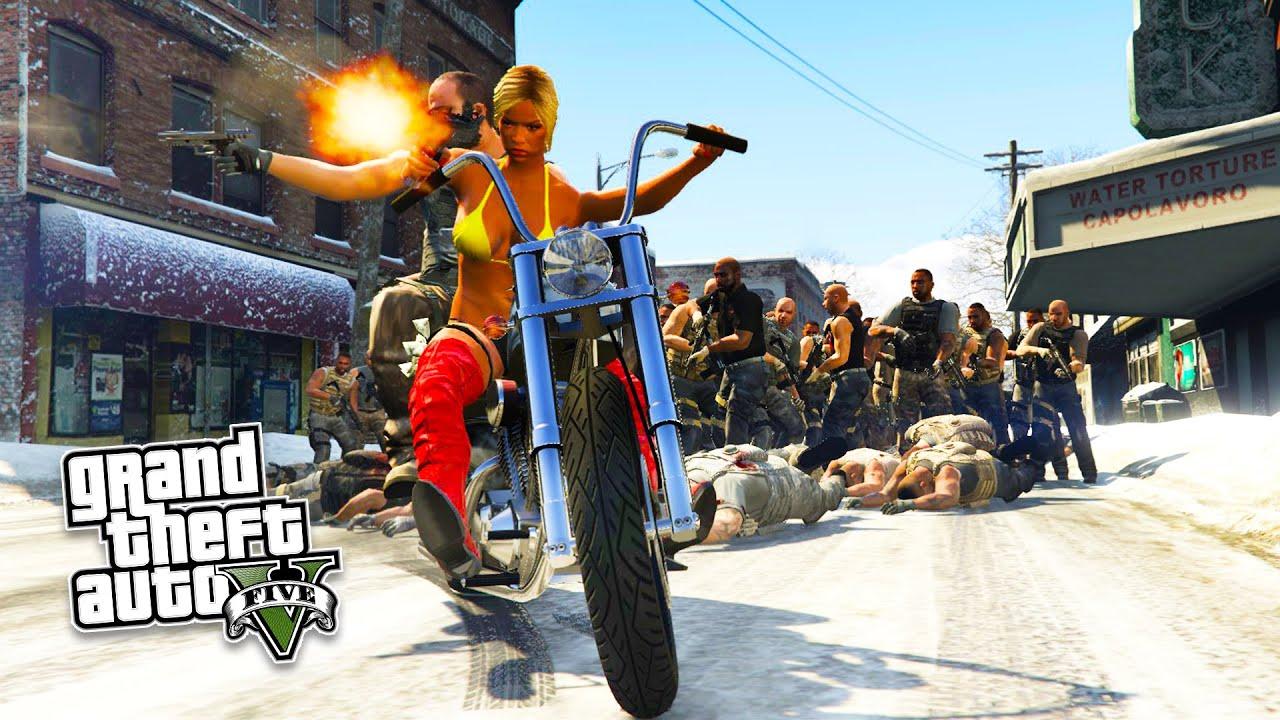 GTA 5 PC Mods - NORTH YANKTON MOD!!! North Yankton FREE ROAM