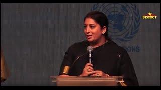 Smiti Irani Full Speech at Inauguration of the Largest Initiative towards Sustainable Fashion #LFW19