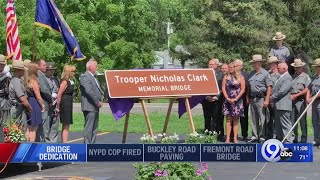 Portion of State Route 69 named Officer Kevin F. Crossley Memorial Highway
