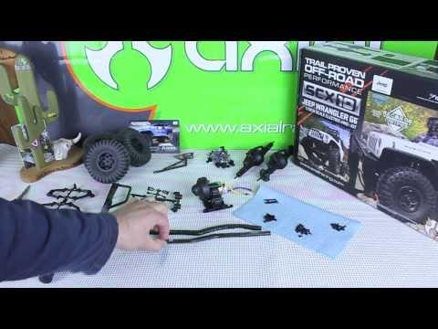 Axial SCX10 Jeep Wrangler G6 Frame Build - dvlstang