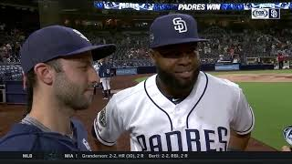 Manuel Margot after clutch go-ahead HR: 'It's exciting'