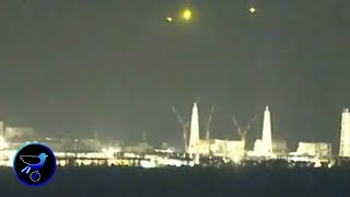 Mysterious lights(UFOs) has appeared over the Fukushima Daiichi nuclear power plant!Aug 20,2019